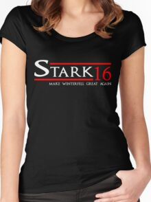 Stark - Make Winterfell Great Again Women's Fitted Scoop T-Shirt