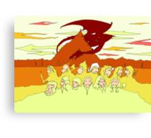The Desolation of Smaug Canvas Print