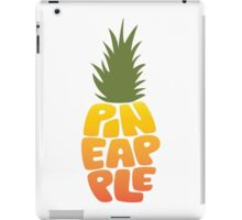 Type O' Pineapple iPad Case/Skin