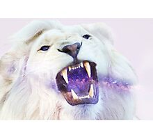 LION+GALAXY Photographic Print