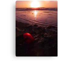 Heart from the Ocean Canvas Print