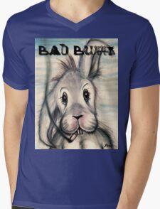 bad bunny Mens V-Neck T-Shirt