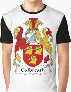 Galbreath Coat of Arms / Galbreath Family Crest Graphic T-Shirt