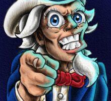 Uncle Sam Tattooist  Sticker