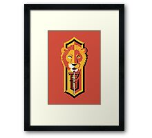 Daring, Chivalrous and Brave Framed Print