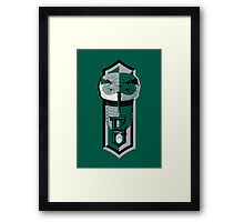 Ambitious, Determined and Cunning Framed Print