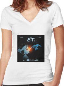 DJ Esco - Esco Terrestrial Women's Fitted V-Neck T-Shirt