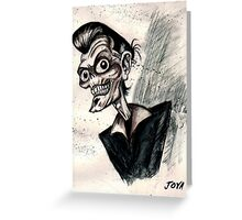psychobilly rockabilly Greeting Card