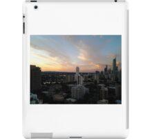 Gold Coast Highrise Sunset iPad Case/Skin