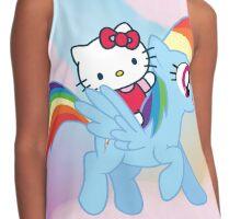 Hello Kitty & Rainbow Dash! Contrast Tank