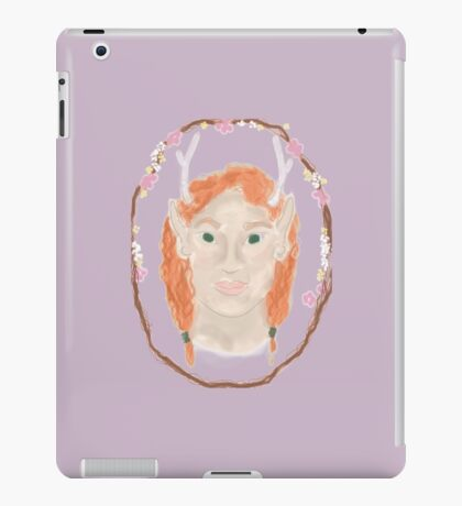 Lady of the Forest iPad Case/Skin