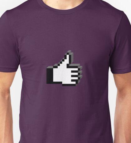 8 Bit Pixel Thumbs Up! Unisex T-Shirt