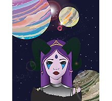 Alien Girl Photographic Print