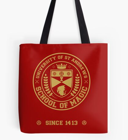 University of St Andrews School of Magic ver 2.0 Tote Bag