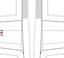 Bell X-1A Sticker