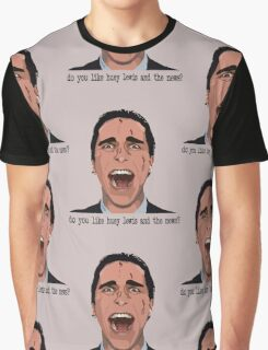 An American Psycho Graphic T-Shirt