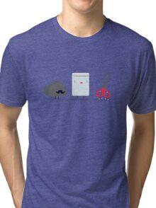 Rock paper scissor Tri-blend T-Shirt
