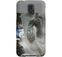 Newcastle (NSW) - Civic Fountain Rainbow Samsung Galaxy Case/Skin
