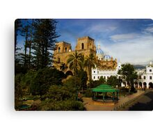 Cuenca Is A World Heritage Site Canvas Print
