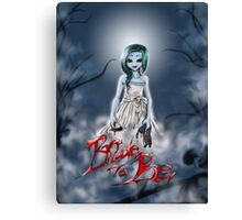 Bride to be Canvas Print