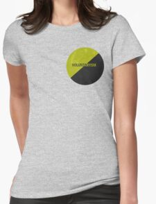 Voluntaryist Earth Womens Fitted T-Shirt