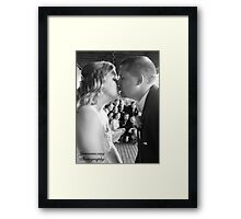 A special kiss Framed Print
