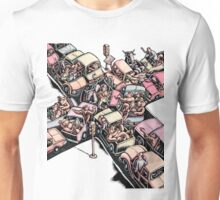 Traffic Jam with Bulls and Bears Unisex T-Shirt