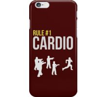 Zombie Survival Guide - Rule #1 Cardio iPhone Case/Skin