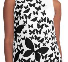 Summer Butterflies Contrast Tank