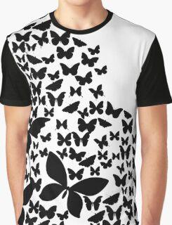 Summer Butterflies Graphic T-Shirt