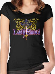Lady Sword Women's Fitted Scoop T-Shirt