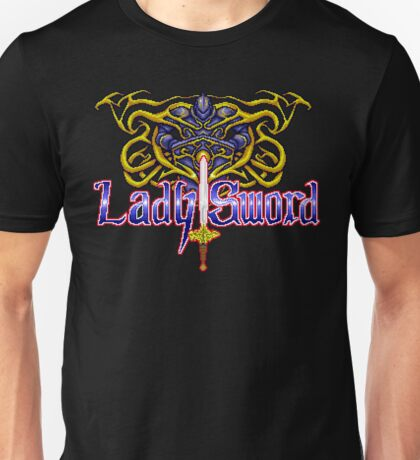 Lady Sword - Turbografx/PC-Engine Title Screen Unisex T-Shirt