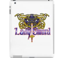 Lady Sword iPad Case/Skin