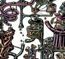 Complicated Business Machine Sticker