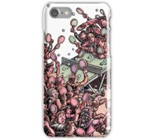 Crowded Ping Pong Game iPhone Case/Skin