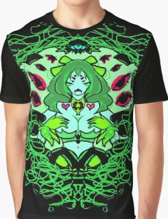 Into her web- Green Variant Graphic T-Shirt