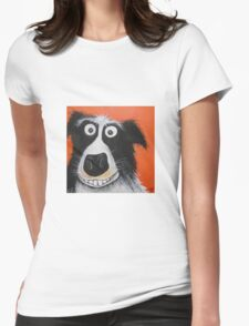 Mr Dog Womens Fitted T-Shirt
