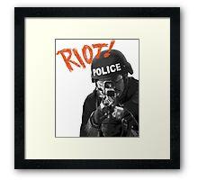 Riot Framed Print