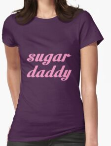 SUGAR DADDY Womens Fitted T-Shirt