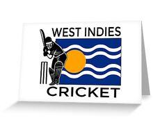 West Indies Greeting Card