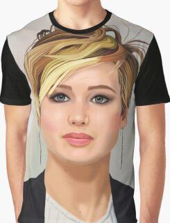 Jennifer Lawrence 1 Graphic T-Shirt