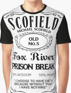 Michael Scofield - White Version Graphic T-Shirt