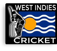 West Indies Cricket Canvas Print