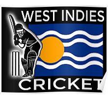 West Indies Cricket Poster