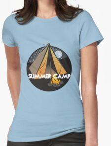 Summer Camp #9 Womens Fitted T-Shirt