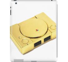 Gold Playstation iPad Case/Skin