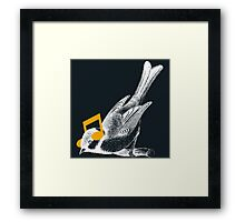 Listening to your heart Framed Print