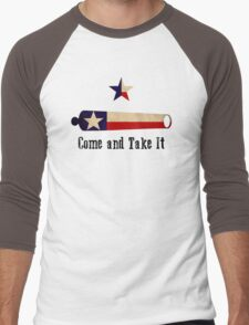 Come and Take it - Texas Flag Men's Baseball ¾ T-Shirt