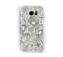 pencil parcels ivory Samsung Galaxy Case/Skin