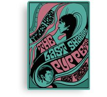 1960s inspired the Last Shadow Puppets poster Canvas Print